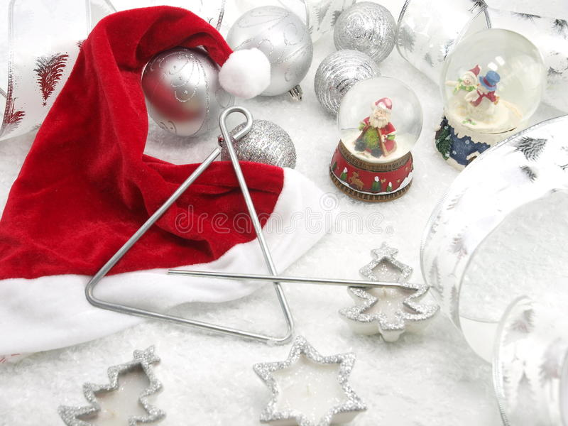 Download Christmas table set stock image. Image of claus, triangle - 17235193