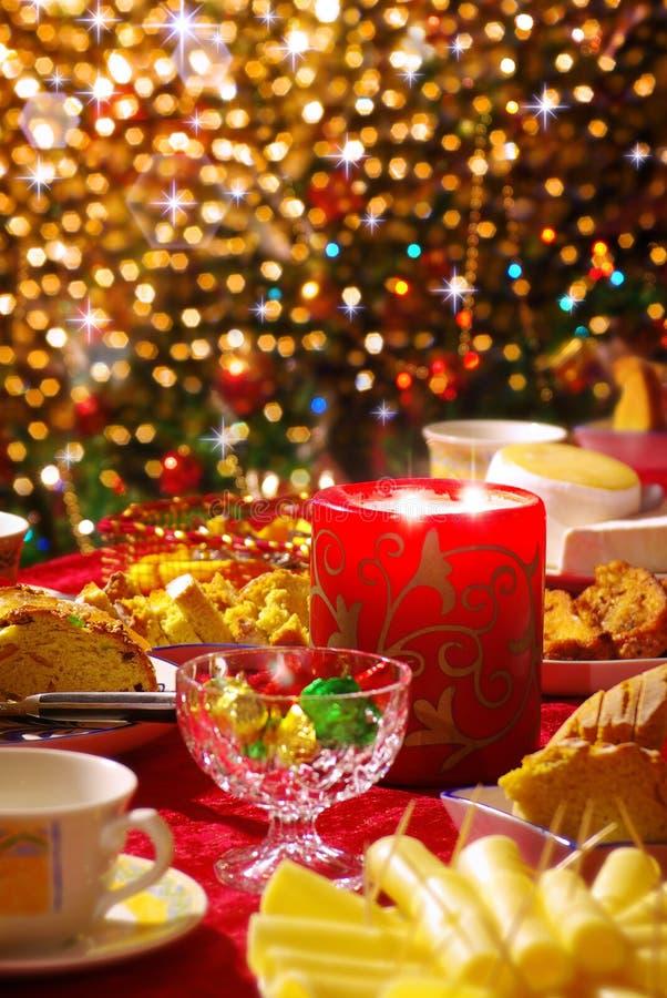 Free Christmas Table Set Royalty Free Stock Photography - 21987267