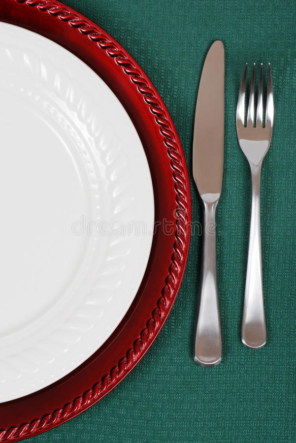 Download Christmas table setting stock photo. Image of christmas - 21731808
