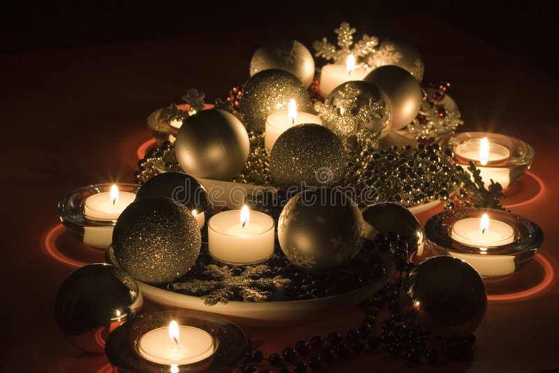 Christmas Tableaux royalty free stock photo
