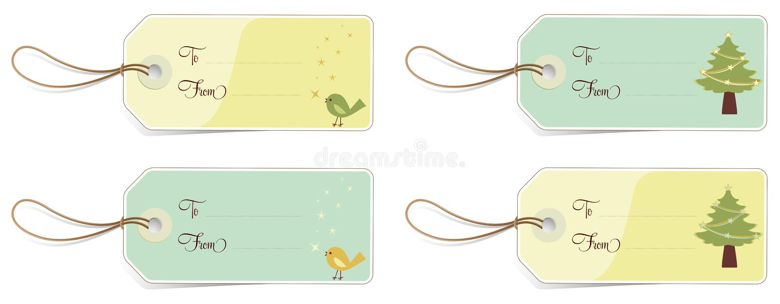 Download Christmas Tags Royalty Free Stock Photo - Image: 17172735