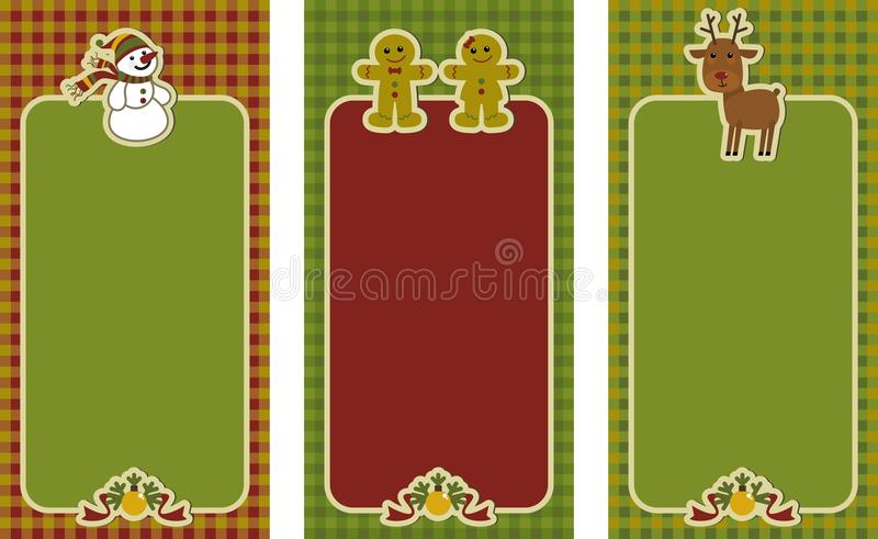 Download Christmas tags stock vector. Image of illustration, label - 40353949