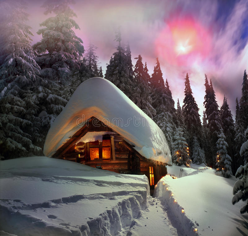 Free Christmas Tale For Climbers Stock Images - 35222824
