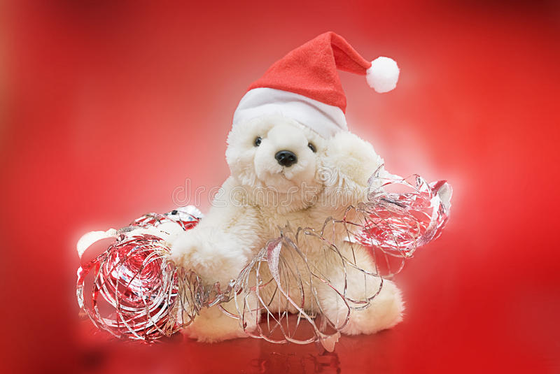 Download Christmas Teddy Bear stock image. Image of bear, happy - 11948925