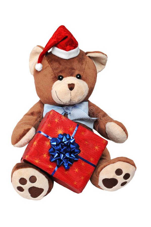 Free Christmas Teddy Bear Stock Photo - 16898020