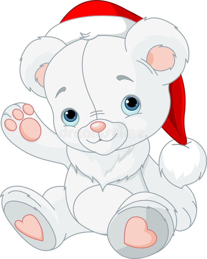 Free Christmas Teddy Bear Royalty Free Stock Image - 27770496