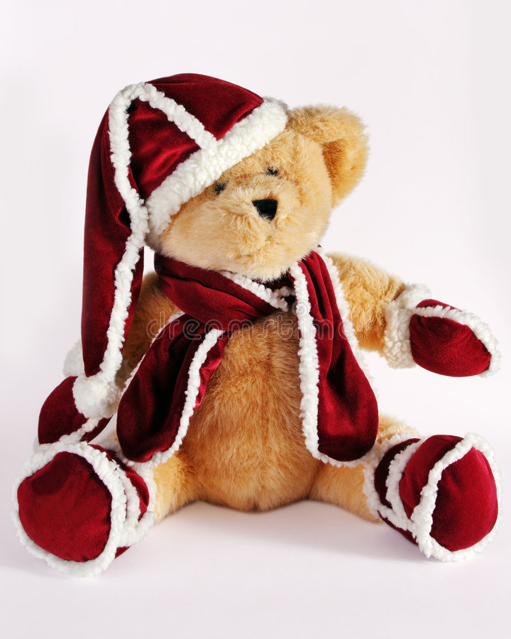 Free Christmas Teddy Bear Stock Photos - 6707923
