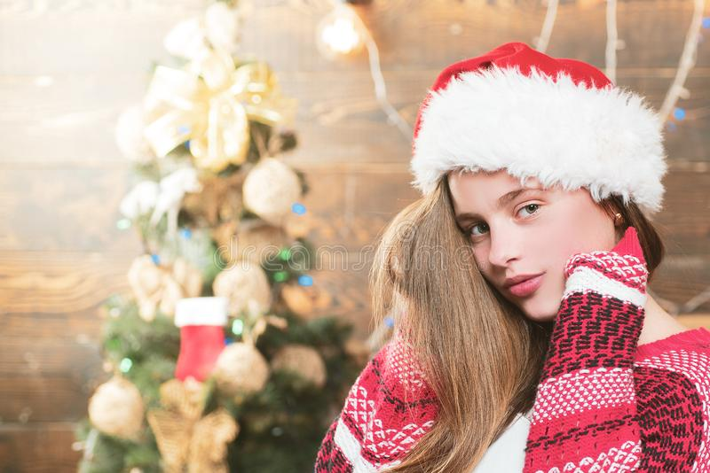 Christmas teenager. Christmas teenager - happiness concept. Merry Christmas and Happy New year. Christmas teenager. Christmas teenager - happiness concept stock image