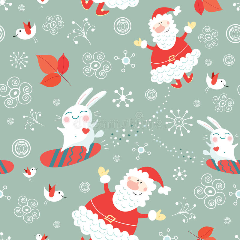 Christmas texture vector illustration