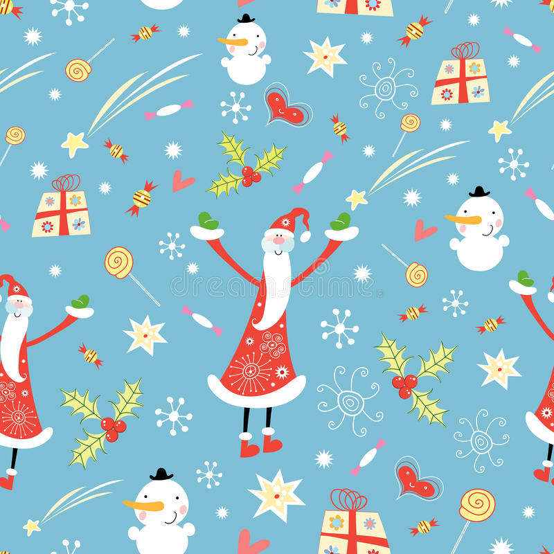 Christmas texture royalty free illustration