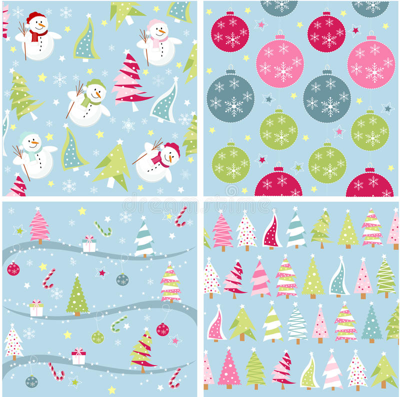 Free Christmas Texture, Patterns Royalty Free Stock Photo - 17296125