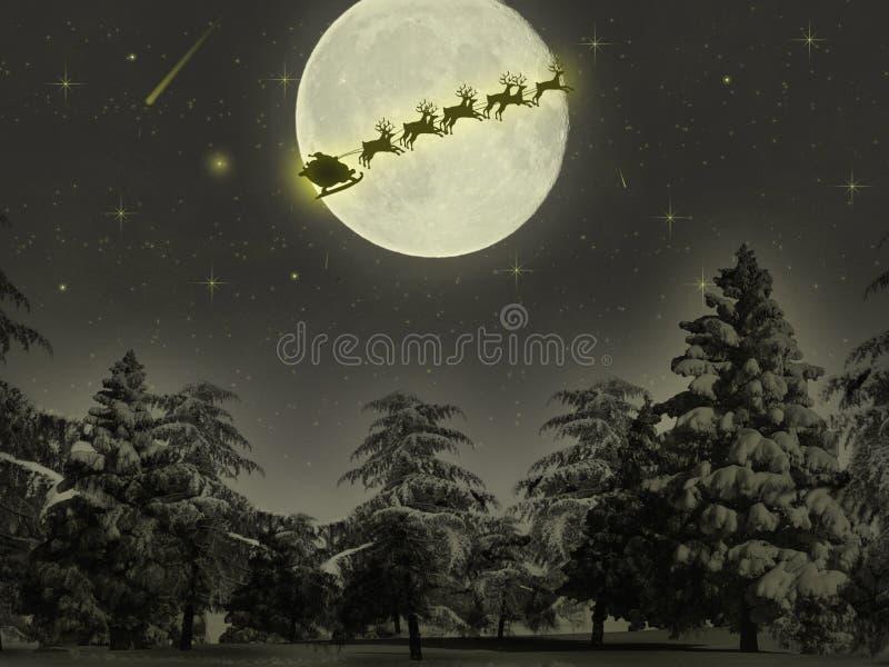 Download Christmas theme 2 stock image. Image of fullmoon, desktop - 13983153