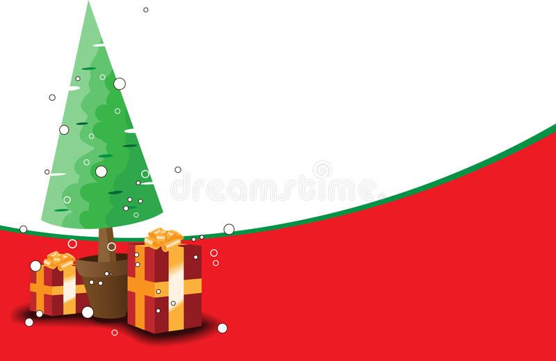 Christmas theme background. For your greeting message vector illustration