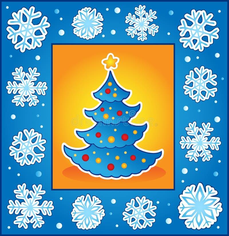 Download Christmas Theme Greeting Card 5 Stock Vector - Illustration: 21825617