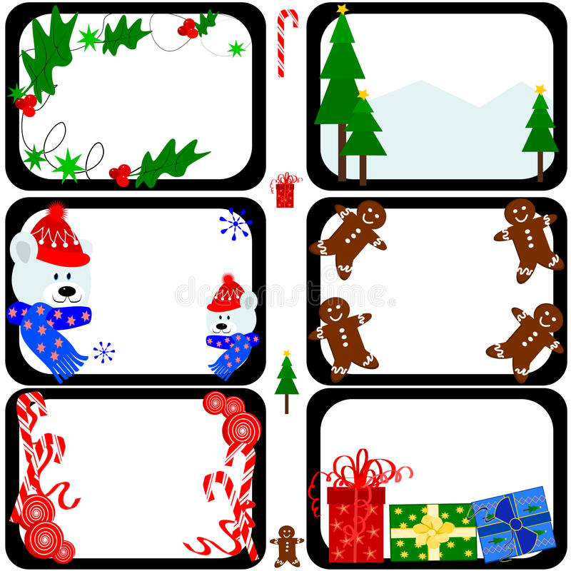 Download Christmas tiles stock vector. Illustration of decorate - 27743126