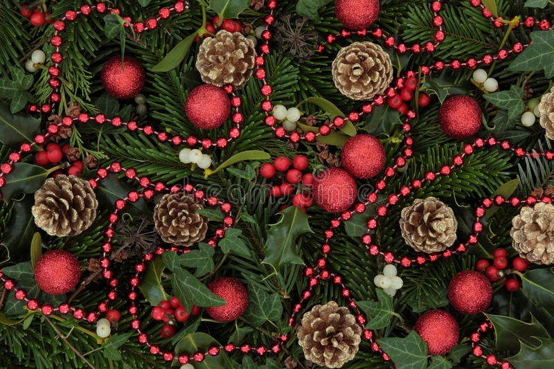 Download Christmas Time stock image. Image of colourful, holly - 27074101
