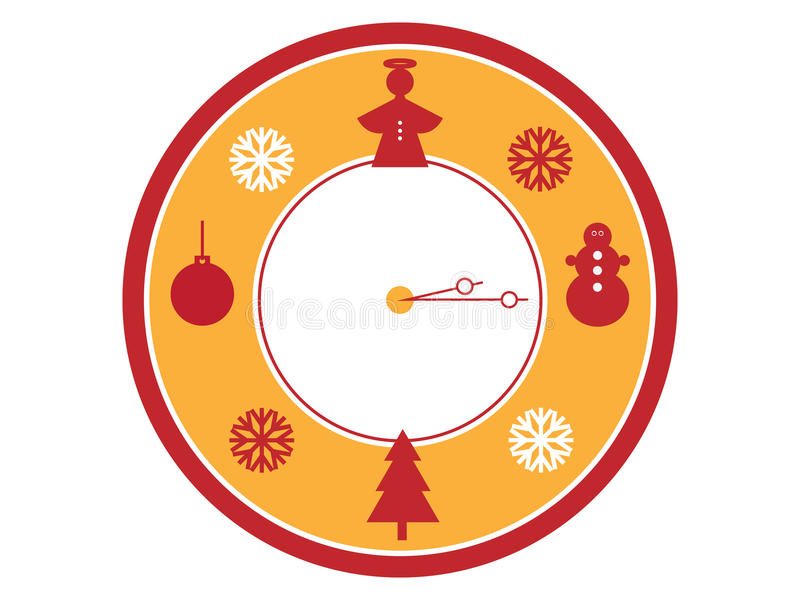 Download Christmas time stock image. Image of silhouette, symbols - 28234199