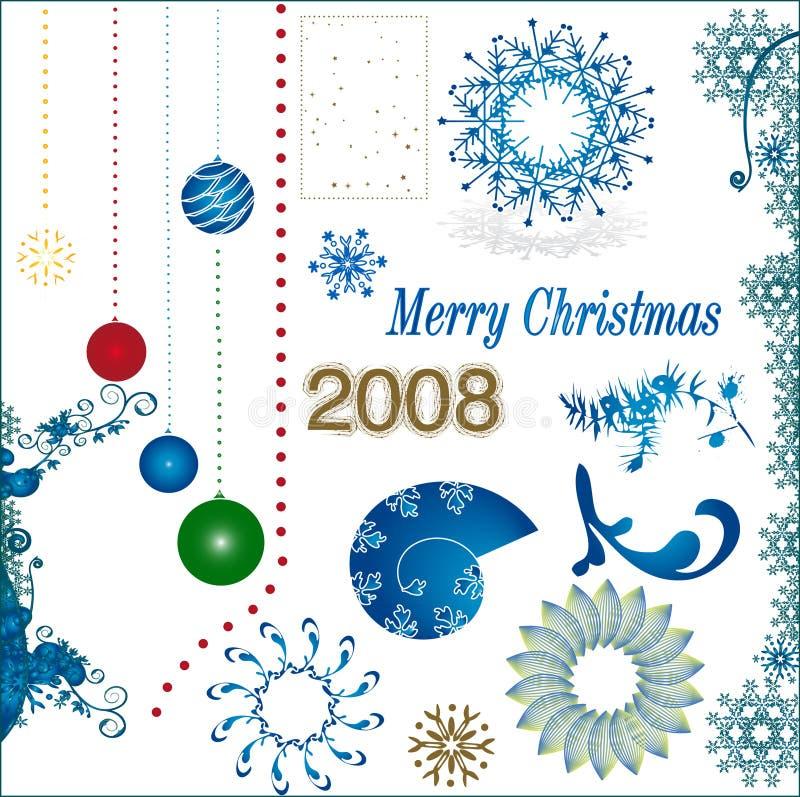 Christmas time royalty free illustration