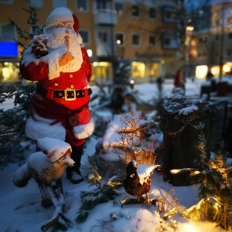 Christmas time in Boden stock photography