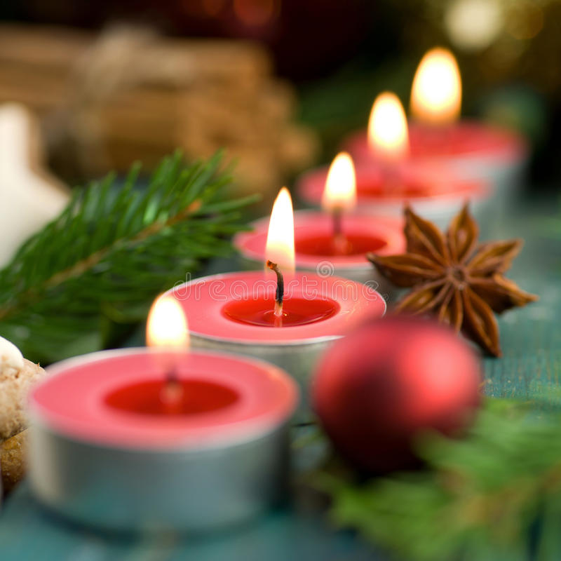 Download Christmas time, candles stock photo. Image of sticks - 27296216