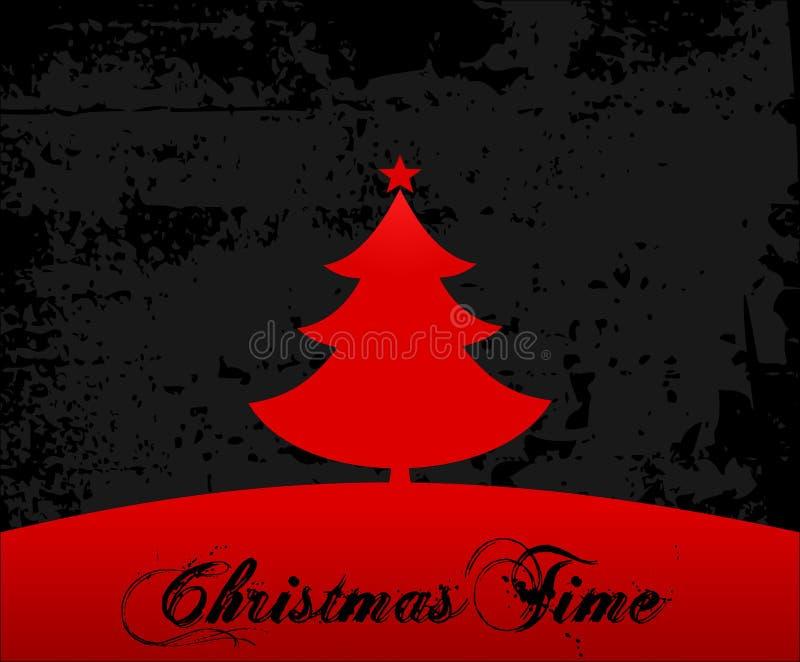 Christmas Time Card Stock Photo