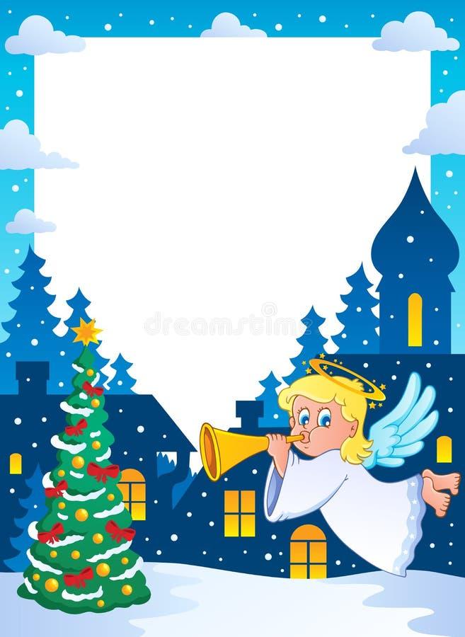 Free Christmas Topic Frame 2 Royalty Free Stock Photo - 27565505