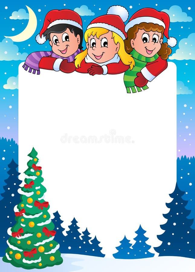 Free Christmas Topic Frame 3 Stock Photo - 27655050