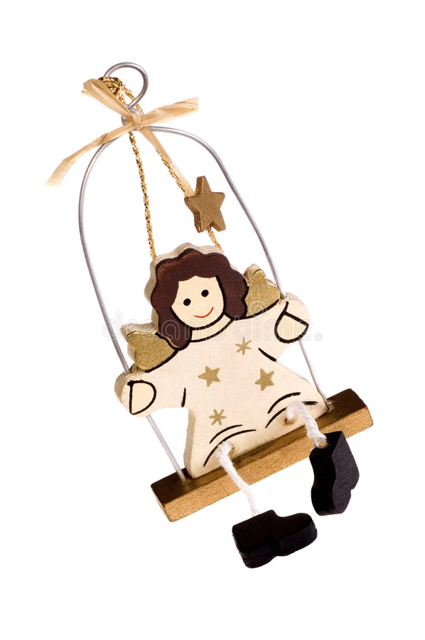 Christmas toy. angel royalty free stock photography