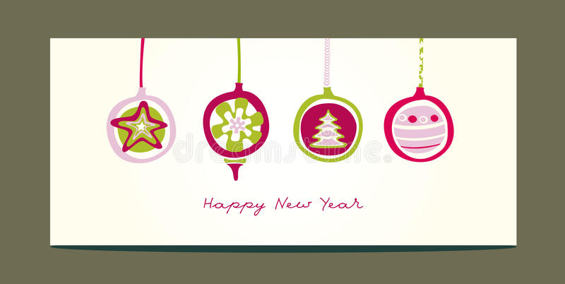 Download Christmas Toys Greeting Card Stock Vector - Image: 22474462