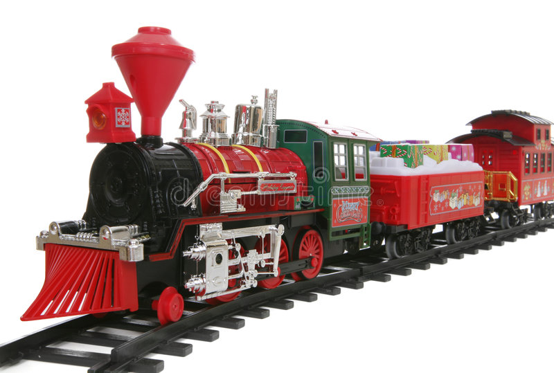 Download Christmas Train stock photo. Image of xmas, deliver, train - 3733266