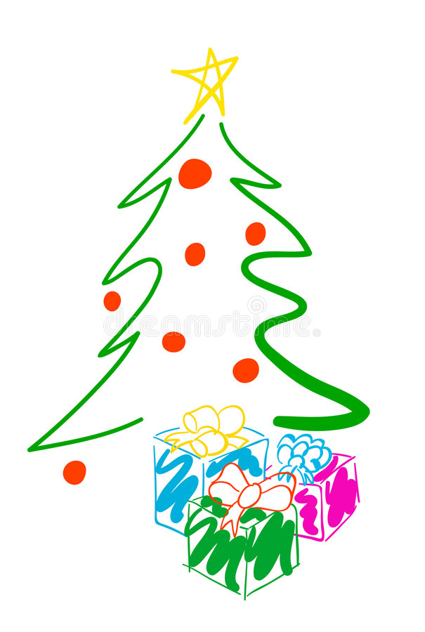 Free Christmas Tree Stock Images - 1077994