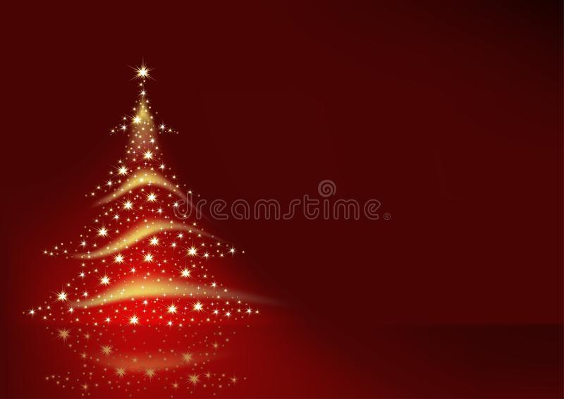 Download Christmas Tree stock vector. Illustration of clip, spiral - 10792206