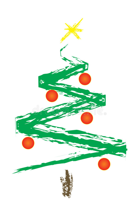 Free Christmas Tree Royalty Free Stock Image - 1095916