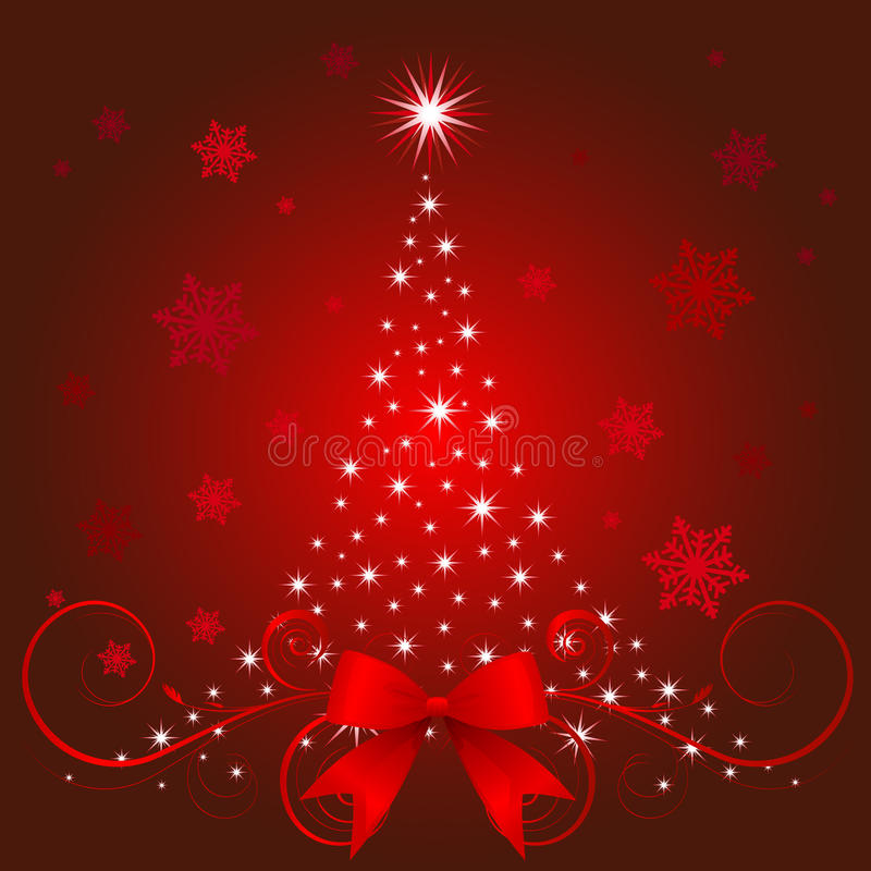 Download Christmas tree stock vector. Image of claus, cold, christmas - 11955840