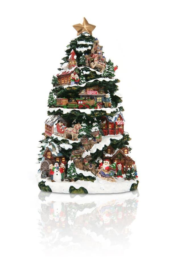 Download Christmas Tree stock photo. Image of santa, reindeer, sleigh - 1397336