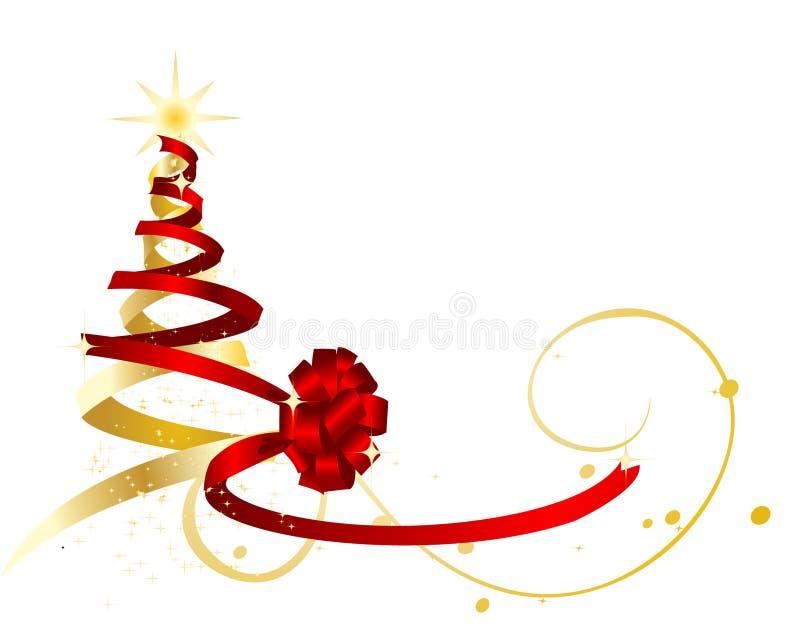 Christmas tree. stock illustration