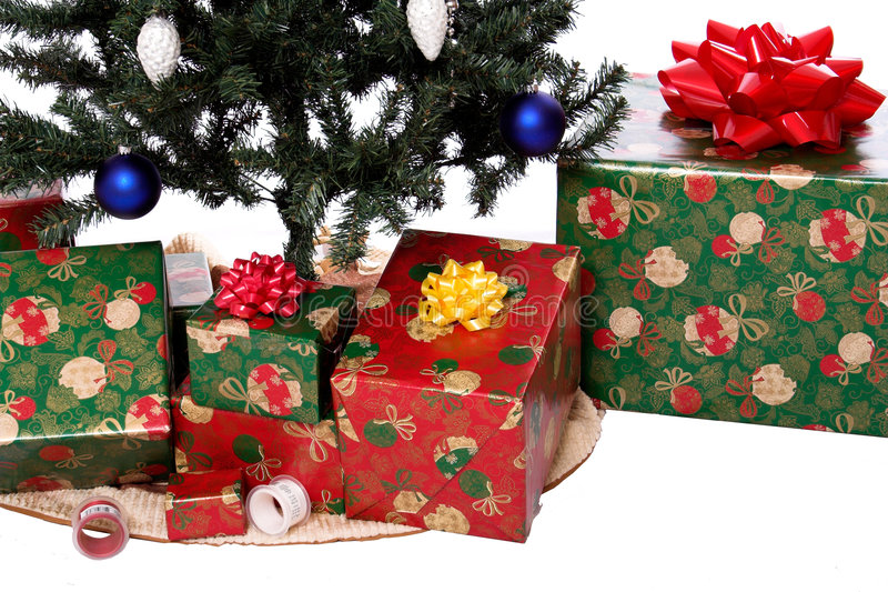 Download Christmas tree 2 stock image. Image of wraping, ornament - 1424901