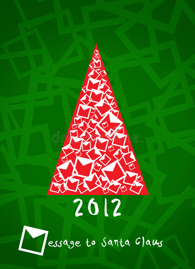 Download Christmas tree 2012 stock illustration. Image of gift - 22378382