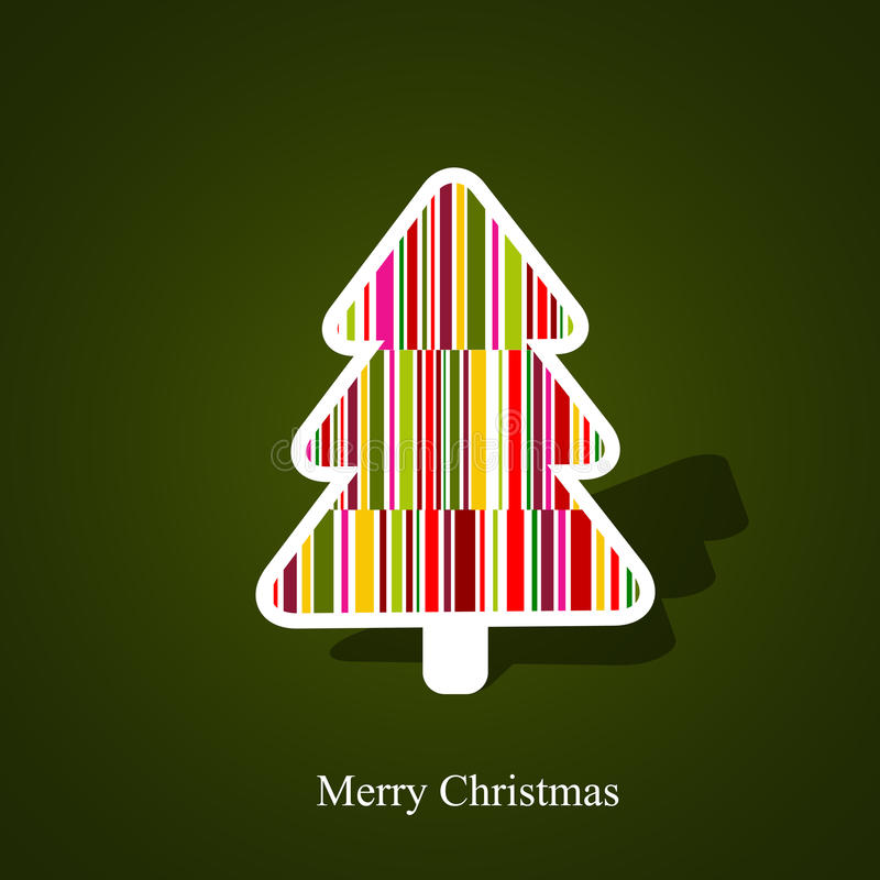 Download Christmas tree stock vector. Image of fantasy, graphic - 21605059