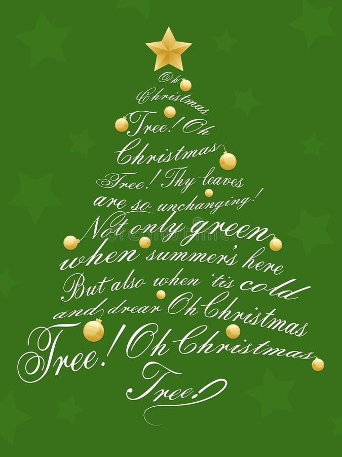 Christmas Tree stock illustration