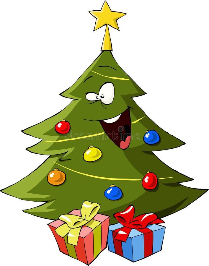 Download Christmas tree stock vector. Image of tree, xmas, painting - 22228341