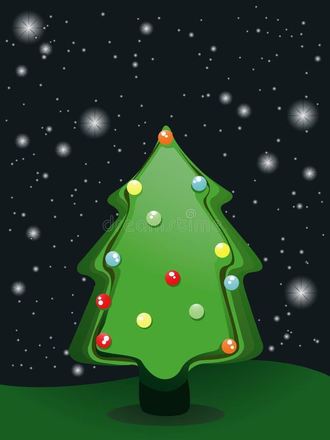 Download Christmas tree stock vector. Image of original, book - 22563041