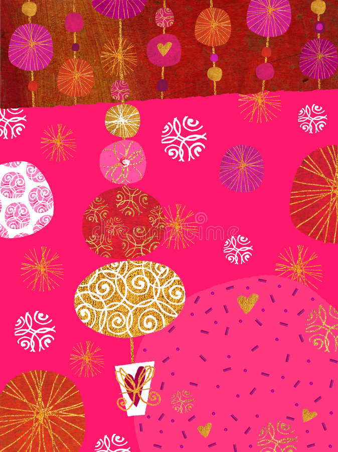 Download Christmas Tree stock illustration. Illustration of bucket - 2622137