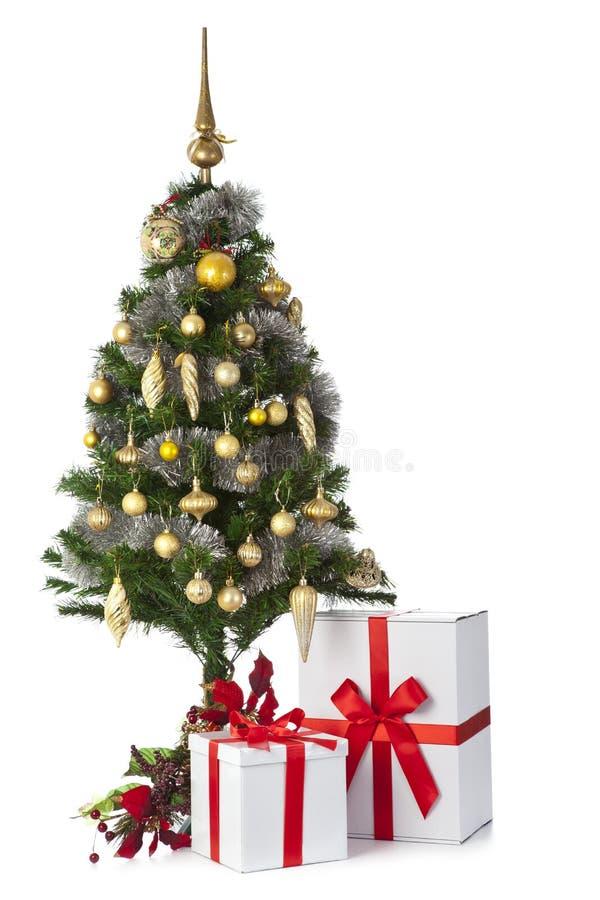 Download Christmas tree stock image. Image of christmas, garland - 26553625