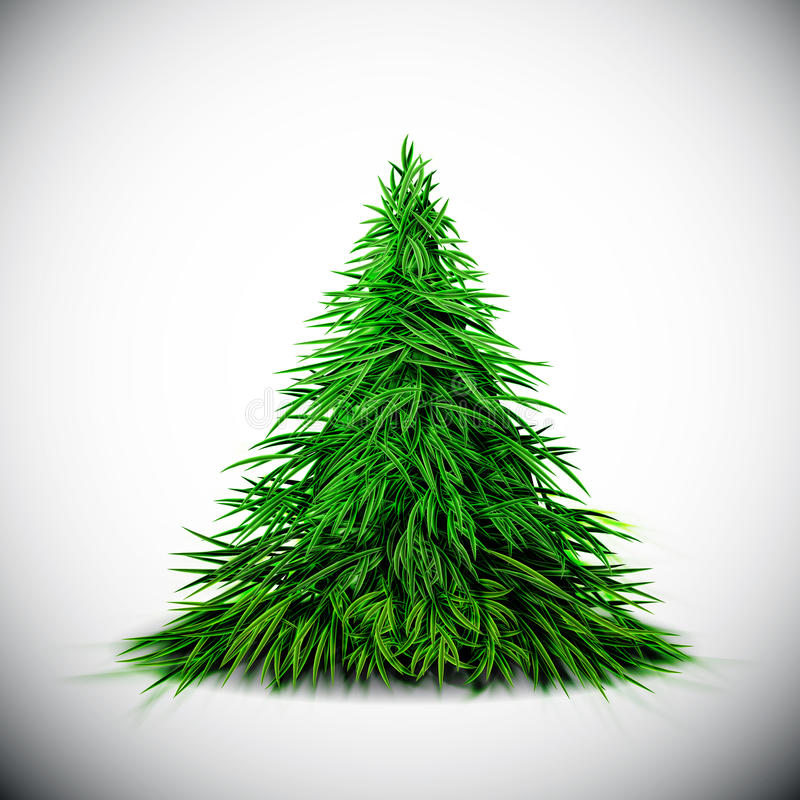 Download Christmas tree stock vector. Image of spruce, season - 27367867