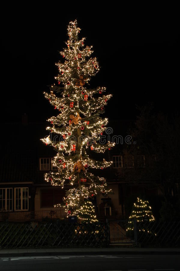 Download A christmas Tree stock image. Image of evangelical, germany - 27513829