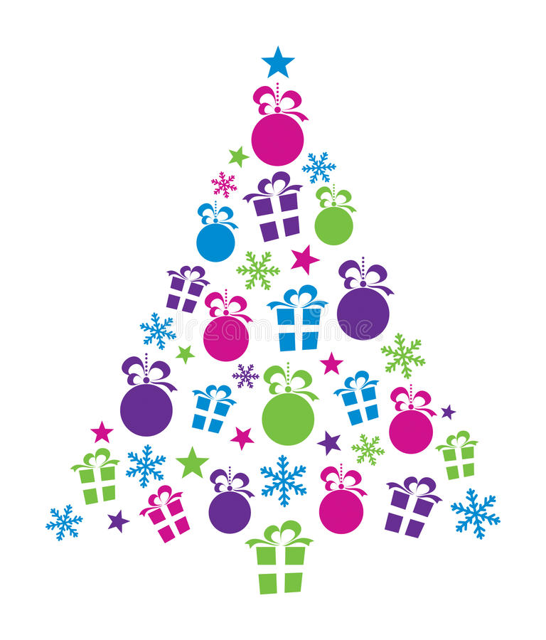 Download Christmas Tree stock vector. Illustration of creative - 27639893