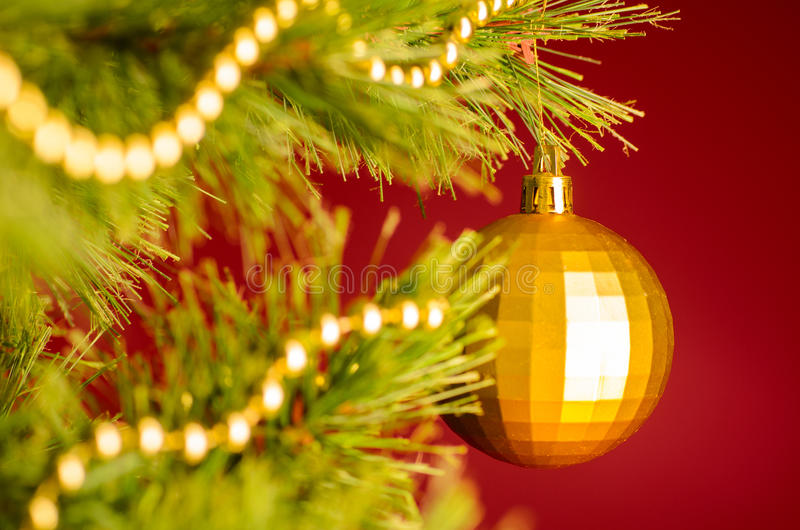 Download Christmas tree stock photo. Image of ball, pine, detail - 27659578