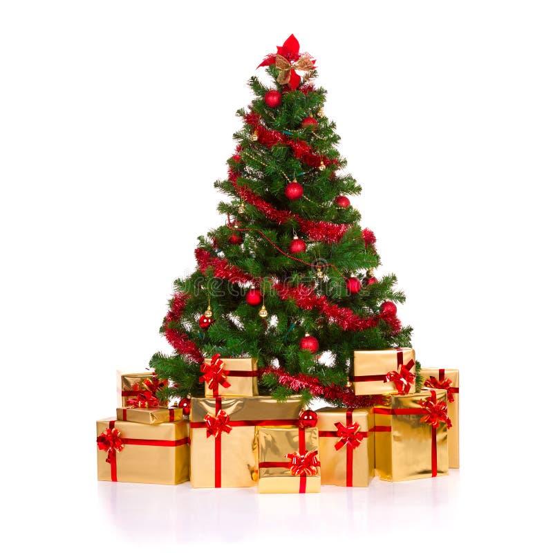 Free Christmas Tree. Royalty Free Stock Photos - 27661588