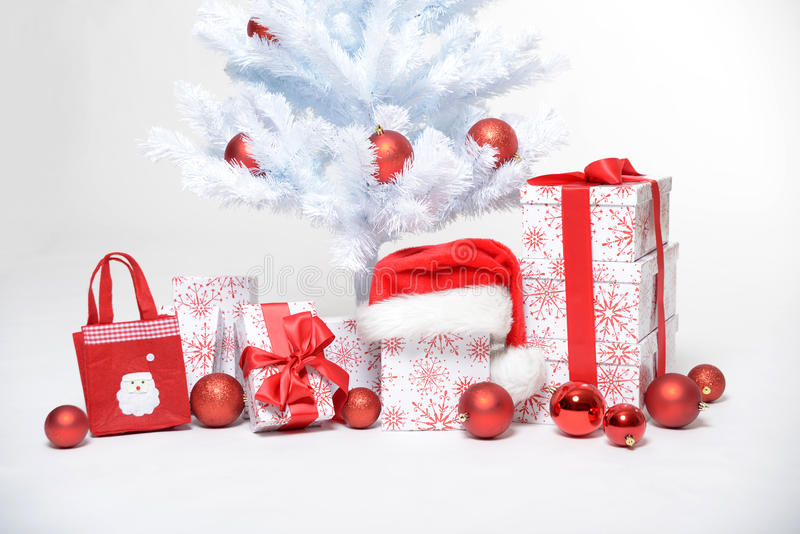 Download Christmas tree stock photo. Image of decoration, white - 27904712